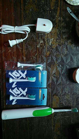 飞利浦(Philips)电动牙刷 HX3110成人声波电动牙刷自动充电式牙刷青少年儿童牙刷 晒单图
