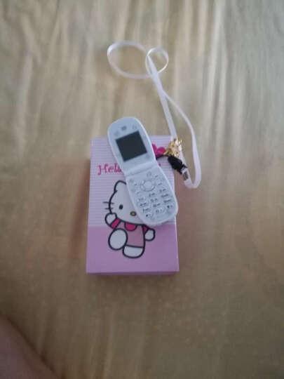 迷你儿童学生个性可爱卡通男女定位非智能手机翻盖 kt猫 粉色 套餐二 晒单图