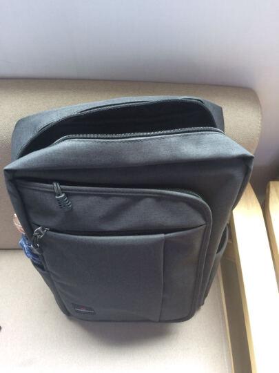 SWISSGEAR电脑包 男女双肩背包15.6英寸笔记本包商务旅行休闲学生大容量书包SA-9951 黑色 晒单图