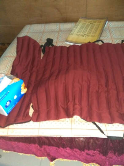 华日(huari)电热原始点红豆袋  第八代智能温敷袋 定时断电 温控显示 远红外 碳纤维 单独帽子独立款  有豆 晒单图