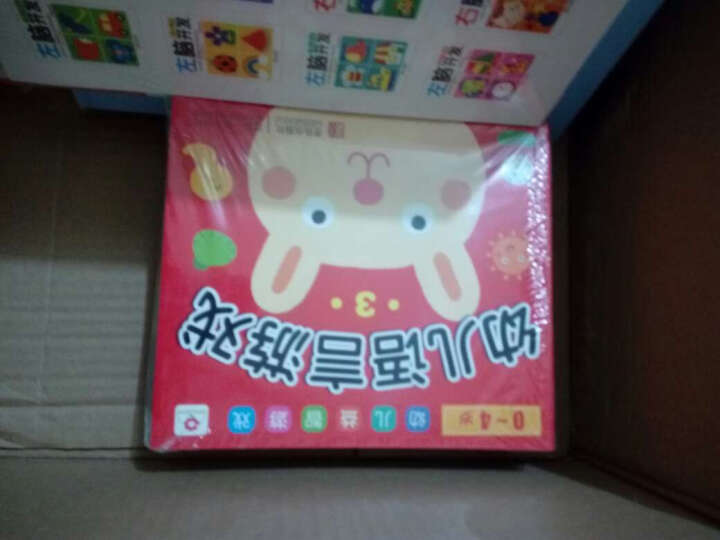 邦臣小红花·0-4岁 幼儿益智游戏(礼品装 套装全16册) 晒单图