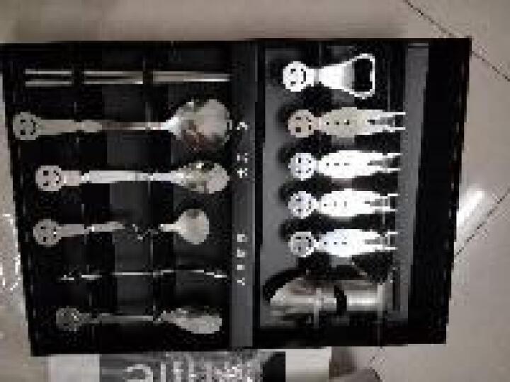 伟龙 生日礼物女生男生女友实用毕业礼物纪念品创意小礼品商务礼品定制员工福利奖品笑脸餐具礼盒 笑脸餐具12件套+礼盒+礼品袋 晒单图