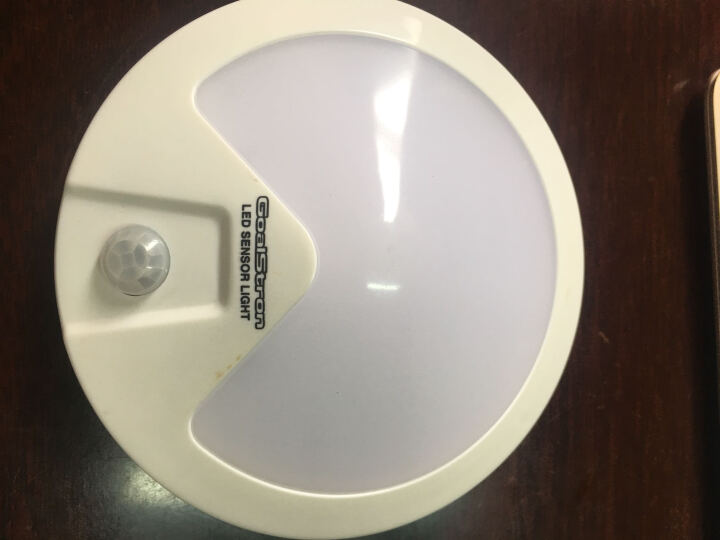 公创 LED夜灯圆锥灯扇形灯智能光感人体感应节能衣柜壁橱衣橱灯床头灯 称心灯(白光) 晒单图