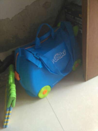 trunki儿童行李箱 卡通图案可坐骑拉杆储物箱 户外旅行箱18L-蓝色3岁以上 英国潮牌 晒单图
