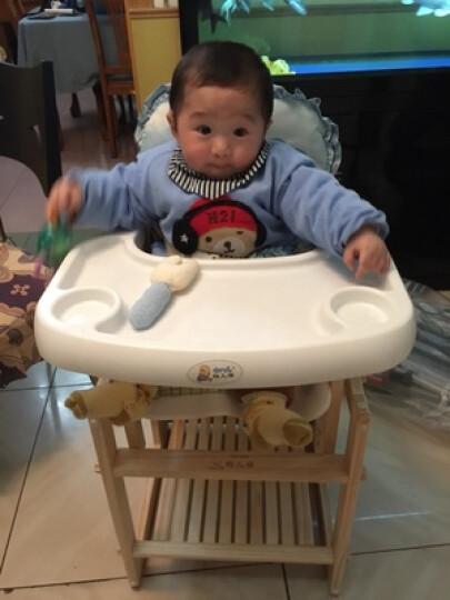 特儿福(TEERFU) 特儿福 儿童餐具套装 手提保温饭盒宝宝碗婴儿餐具不锈钢小学生饭盒 哆啦a梦(蓝色) 饭盒 晒单图