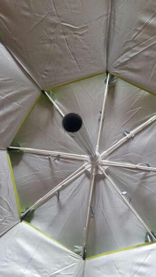 佳钓尼(JIADIAONI) 佳钓尼 钓鱼伞 垂钓防晒伞防雨防紫外线渔具垂钓用品伞 2米绿色牛津伞 钓鱼伞 晒单图