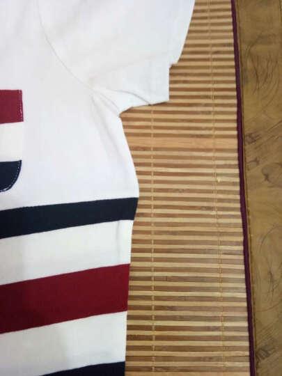 唯美范T恤女 2017夏装新款印花时尚打底衫上衣女百搭民族风休闲短袖T恤女8571 白色 L 晒单图