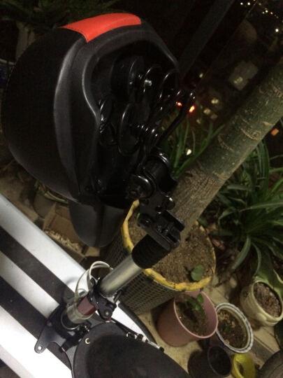 电动滑板车车座 折叠电动车弹簧减震座椅 可拆卸可折叠座垫 方形U型底座可选 U形底座 10寸 晒单图