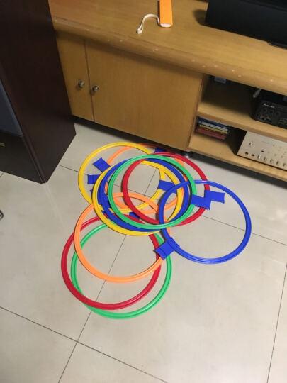 贝比谷 幼儿园室内游戏玩具感统训练器材跳格子儿童户外运动器械跳房子 大号10圈20卡扣 晒单图