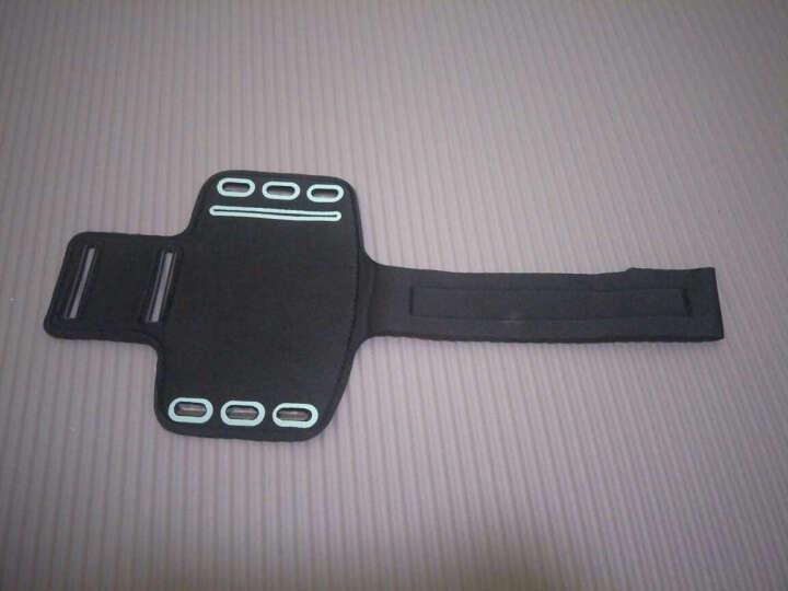 路伊梵 手机臂包臂套户外跑步骑行运动臂带男女腰包臂袋 黑色 4.7寸 晒单图