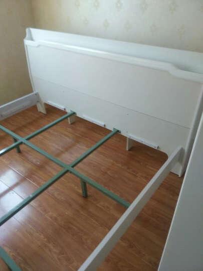 双虎(SUNHOO)双人床1.5米床1.8米床简约现代床 卧室家具套装组合B6 低箱床+床头柜*2+舒梦床垫+B1四门衣柜 1800mm*2000mm 晒单图