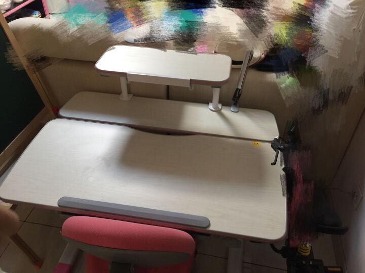 智学库 儿童椅学习椅可升降儿童学习椅成长椅 ZZ-100+ZY-06(活力粉) 晒单图