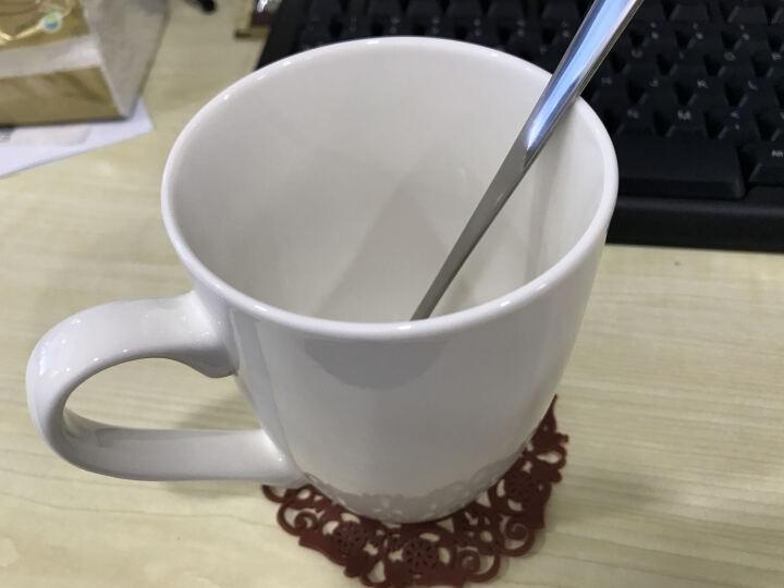 布丁瓷艺 简约陶瓷水杯马克杯大容量杯子创意咖啡杯牛奶麦片杯可定制 摇摆杯 晒单图