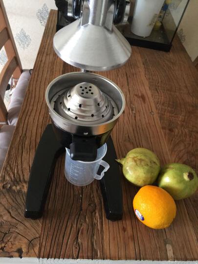 古达 手动榨汁机家用商用不锈钢榨汁机压汁机多功能榨水果机榨汁器 手动榨汁机黑色 晒单图