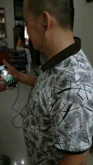 戴为 金属重低音手机耳机线控带麦克风运动 通用 玫瑰金 摩托罗拉MMoto X Pro XT1115 晒单图