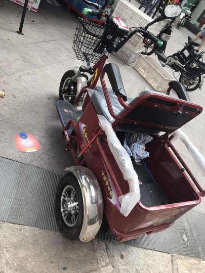 泰合 老年人电动三轮车老人电动代步车老年代步车三轮电动车 TH106-6差速电机 48v20按锂电池 晒单图