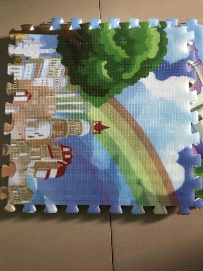 贝博氏 双面扣扣地垫 宝宝爬行垫爬爬垫 防滑地垫游戏毯加厚森林古堡(60*60cm*2cm*6片装) 晒单图