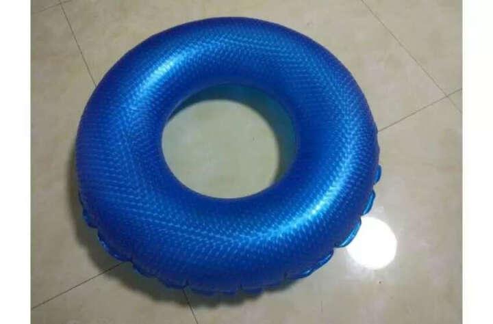 KASITE 游泳圈 成人加厚男女充气大人救生圈 加大儿童腋下圈80泳圈 粉色KY-03 晒单图