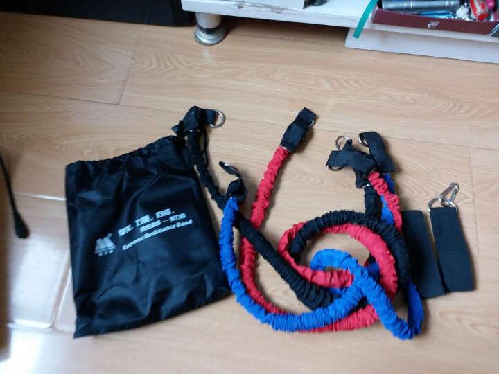美力信拉力绳拉力器力量训练套装男女弹力带阻力带扩胸器 布带款专业12件套 晒单图