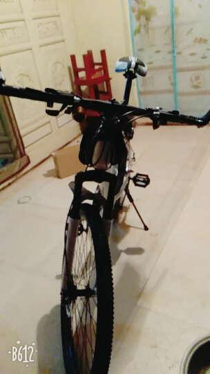 司特马自行车男女  双碟刹高碳钢24/26寸21/24速公路车学生成人单车变速山地车 蓝色 21速 晒单图