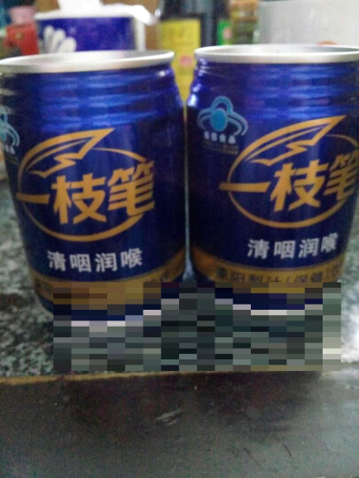 【莱阳馆】包邮一枝笔莱阳梨汁饮料润喉果汁果味饮品245ml*6罐装组合 蓝 晒单图
