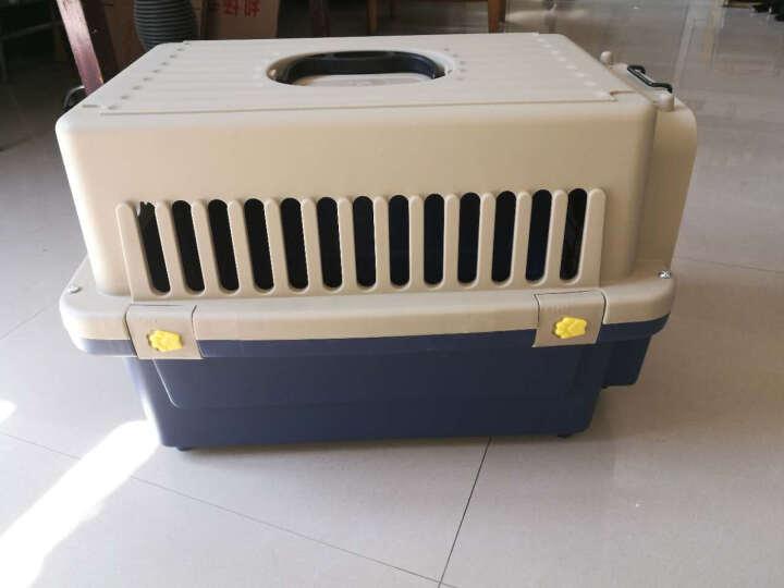 宠琪趣宠物航空箱狗狗猫咪加厚托运箱子宠物笼外出用品 L 晒单图