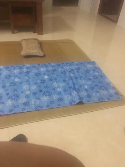 冬焱夏淼 冰垫坐垫床垫沙发垫夏季凝胶冰凉席单双人 冰雪森林款70*170 晒单图
