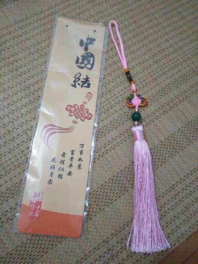 玉石玛瑙中国结挂件特色精致中国结礼品馈赠送外国友人送朋友客户 咖啡色盒装 晒单图