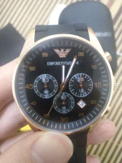 阿玛尼(ARMANI)手表男士手表情侣手表时尚商务休闲非机械表多功能男表 AR0671 晒单图