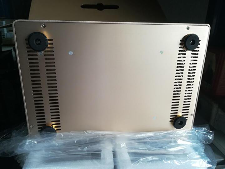 佑泽(CEMO) 9001全铝小机箱HTPC卧式空箱(支持ITX主板迷你1u服务器电源) 金色 晒单图