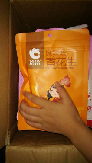 洽洽 怪味蚕豆180g*1袋蟹黄蚕豆五香兰花豆零食炒货 恰恰好 麻辣味 晒单图