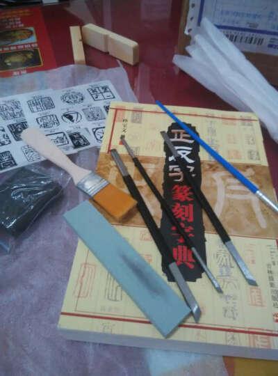 鲁印坊 篆刻套装工具印石套装寿山石练习印石章料印章石料刻石头料石材 晒单图