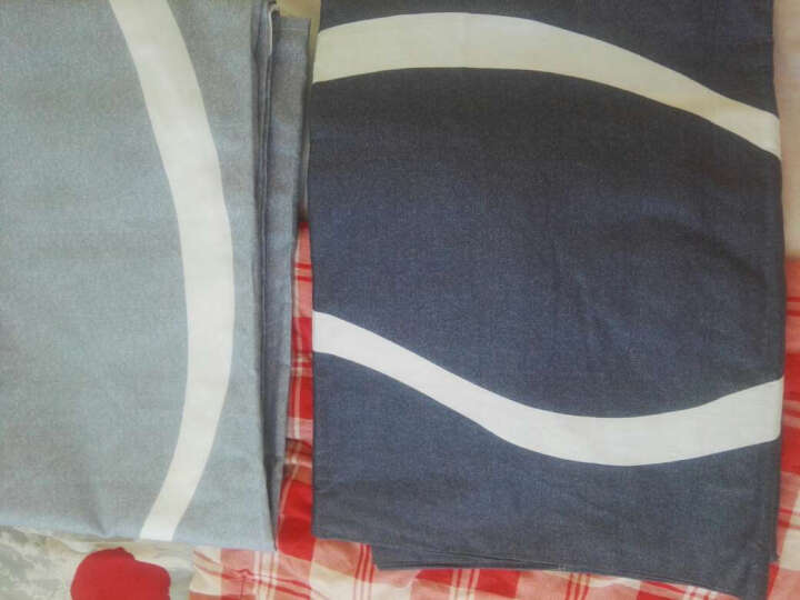 南极人 四件套纯棉1.8m床上用品全棉被套斜纹印花床单式套件 星座 晒单图