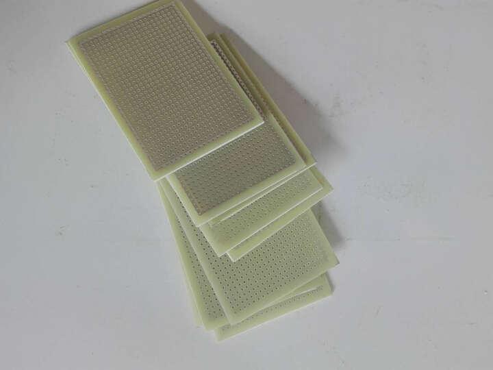 云野 单面开发板 洞洞板 实验板 线路板10CMx16CM 孔径0.8mm PCB板 晒单图