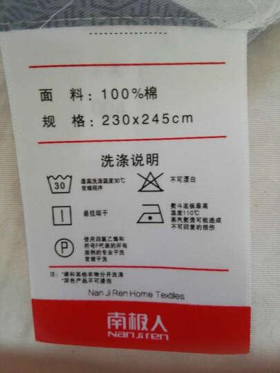南极人四件套纯棉1.8m床上用品全棉被套斜纹印花床单式套件 星座【推荐款】 晒单图