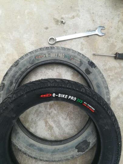 正新轮胎 16X3.0 电动车三轮车自行车摩托车 C-1488电瓶车耐磨轮胎 外胎+内胎 晒单图