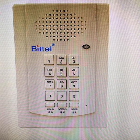 比特HA41T-4 电梯挂壁电话机 酒店浴室挂机消防话机 自动开机 忙音自动挂机 HA(41)T-4f 晒单图