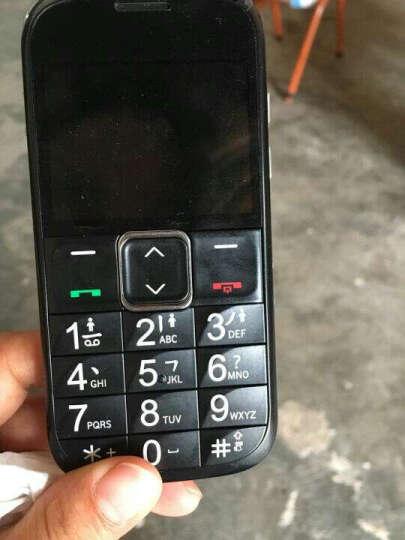 守护宝 L530G 移动/联通2G 老人手机 黑色 晒单图