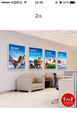 恋之屋 公司企业文化墙无框壁画办公室会议室励志装饰画企业标语挂画墙画 合作共赢. 40*60 15MM 晒单图