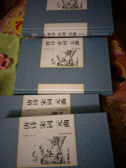 唐诗宋词元曲 全套四册 正版精装国学馆 文白对照古诗词赏析 诗歌散文古代文学作品书籍 晒单图