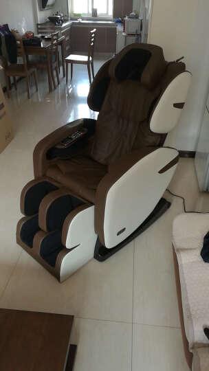 【英国品牌】QTQ 按摩椅太空舱豪华零重力全身家用多功能全自动按摩沙发Q8 升级版白色613 晒单图