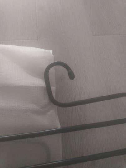 家杰 多功能魔术裤架 S型多层裤架 裤子衣架衣柜收纳裤挂裤夹 3只装 JJ-LS007 晒单图