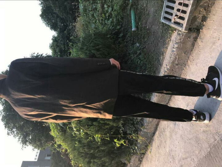 俞兆林 中老年男装毛呢大衣冬季外套爸爸装商务休闲修身立领中年毛呢子大衣男中长款衣服男 1508上青色 180/XL 晒单图