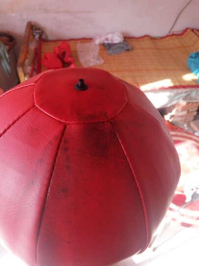 赛硕速度球散打球泰拳跆拳道拳击沙袋发泄球沙包不倒翁成人儿童两用黑色红色送气筒礼品 黑红球 吸盘款+亲子手套+礼品 晒单图
