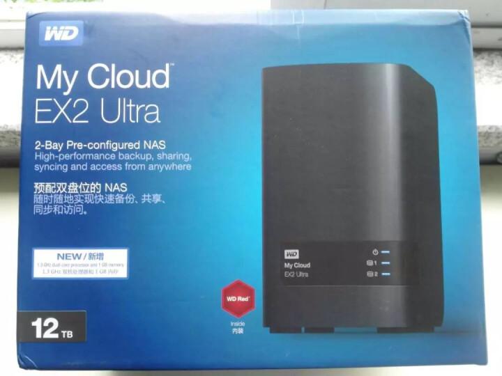 西部数据(WD) 西数WD My Cloud EX2 NAS Ultra网络服务器云服务器 黑色 4TB 晒单图
