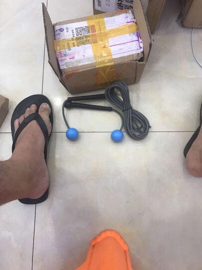 WITESS无线无绳跳绳成人女性减肥健身家用负重钢丝专业绳子运动 两用跳绳紫色 晒单图