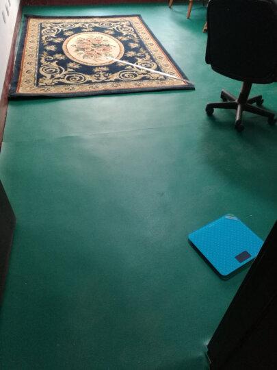欧百娜健身房地垫PVC塑胶运动地板羽毛球地胶乒乓球篮球场地防滑地胶垫 荔枝纹4.5自己安装 晒单图