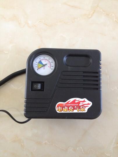 海飞跃 真空胎电动车充气泵便携电动打气筒轮胎打气泵48v60v72v96v应急电动充气泵 48V至72V电压之间都可以通用 晒单图