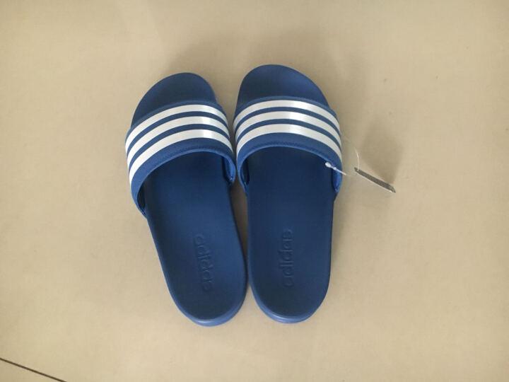 阿迪达斯adidas 官方 游泳 男子 拖鞋 蓝 AQ4936 如图 43 晒单图