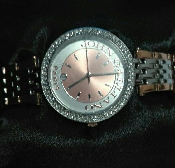 约翰·加利亚诺 (JOHN GALLIANO) VERY GALLIANO 系列手表混玫瑰金石英机芯钢带女士腕表R2553132506 晒单图